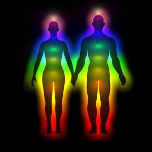 Uitwisseling van energie via ons aura